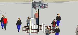 "Google SketchUp concept ""Flirting Point turbo"""