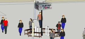 "Google SketchUp concept ""Flirting Point turbo"""
