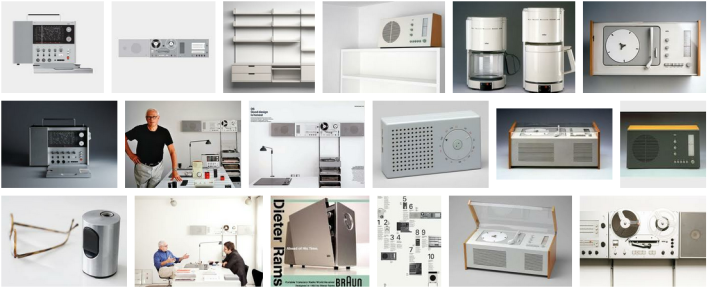 Dieter Rams industrial design products