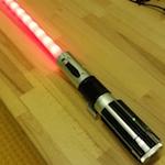hacked lightsaber