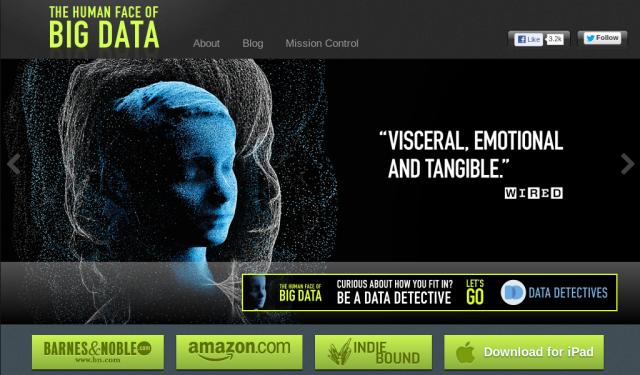 The human face of big data website