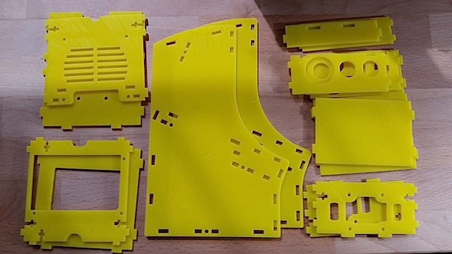 Lasercut parts