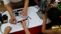 Teaching kids about soldering