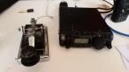 Vintage morse code transponder