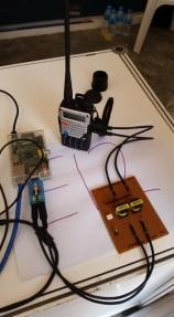 Internet enabled walkie talkie