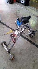 IDA Labs: foldable portable motorised transport