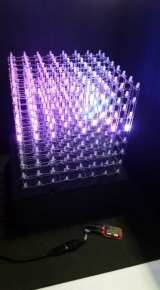 Intel Edison: LED cube
