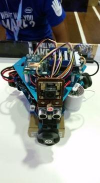 Intel Edison: robot