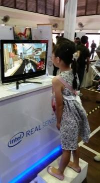 Intel: built in depth motion sensor