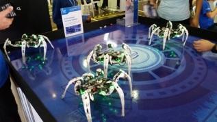 Intel spider bots