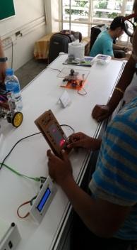 Chiang Mai maker club: Tetris