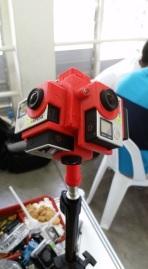 Omni-directional video camera