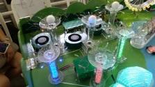 LED acrylic sculptures