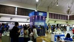 Intel took up the main hall