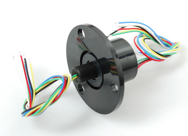 Adafruit slip ring with flange