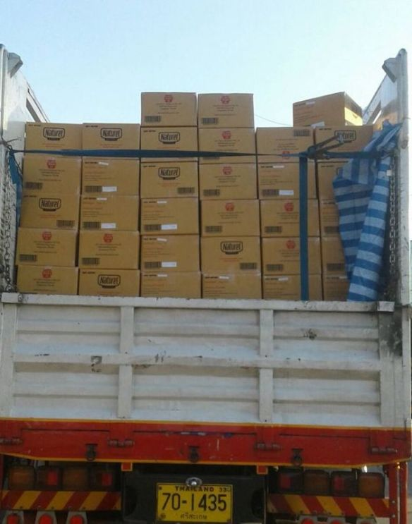 The case of the missing truck cargo | lohjianhui